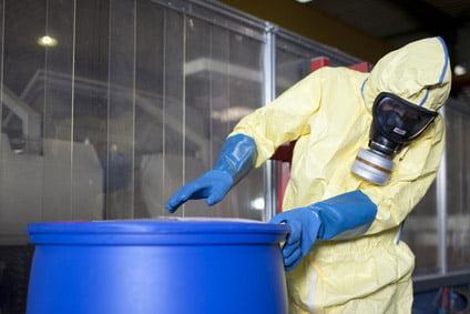 Substancje chemiczne w zakładzie pracy