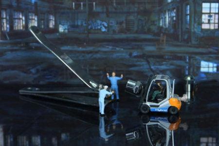 Przewóz towarów niebezpiecznych wózkami widłowymi